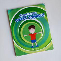 A criança é o personagem principal deste Livro personalizado. CantaComigo,  um presente para toda a vida! www.mybabyface.com.br