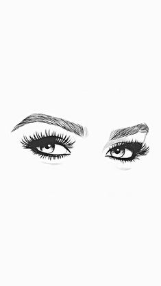 Save this pin to see later. Tumblr Wallpaper, Screen Wallpaper, Wallpaper Backgrounds, Art Sketches, Art Drawings, Lash Quotes, Makeup Illustration, Lashes Logo, Woman Drawing