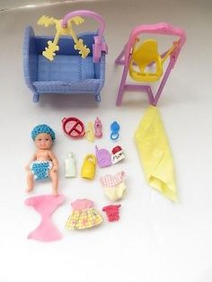 The 7 Reasons Why You Need Furniture For Your Barbie Dolls - Baby Doll Zone Mattel Barbie baby Krissy doll & accessories Barbie Bebe, Barbie Dolls Diy, Baby Barbie, Barbie Doll House, Mattel Barbie, Barbie Clothes, Girl Dolls, Baby Dolls, Barbie And Ken