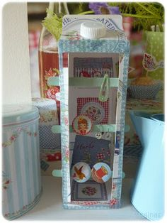 Great way to display hair clips and earrings!