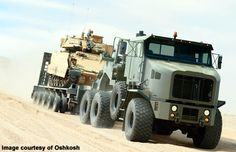 Oshkosh 1070 Heavy Equipment Transporter - US Army