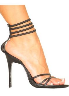 I have these...  they are hard to walk in because there is nothing to hold your feet stable but WTF you aren't worried about walking in these anyway!