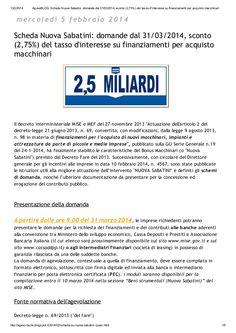 E-book su Nuova Sabatini - Bonus macchinari by Alberto Cardino - AGEVOFACILE via slideshare