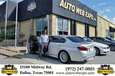 https://flic.kr/p/MeWm3p | Happy Anniversary to Nate on your #BMW #5 Series from George Ondarza at Auto Web Expo Inc! | deliverymaxx.com/DealerReviews.aspx?DealerCode=J789