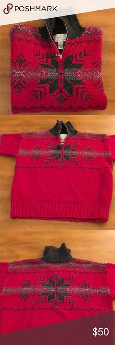 Norwegian sweater This is a nice and thick, hand knitted Norwegian sweater for this cold winter season. Very cozy! Portraits by Northern Isles Sweaters