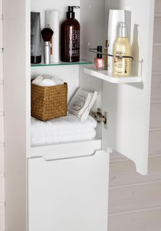SUN HÖGSKÅP 300 SVART EKSTRUKTUR - Hafa badrum Bathroom Medicine Cabinet, Vanity, Storage, Furniture, Home Decor, Dressing Tables, Purse Storage, Powder Room, Room Decor