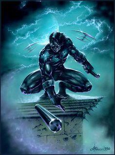 Dimitri Patelis - Nightwing//Dimitri Patelis/P/ Comic Art Community GALLERY OF COMIC ART