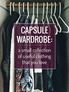 How to Start a Capsule Wardrobe - a guide for beginners, with free printable guides to help you get started! | pinchofyum.com