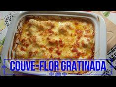RECEITA: Couve-flor gratinada - YouTube