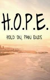Resultado de imagen para hope