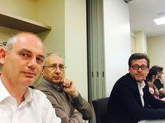 14/4/2016. Lo Staff di Crescere per Competere nell'ultimo incontro di Firenze