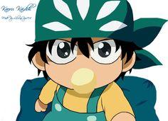 Prince of tennos Chibi Kaidoh KAWAII~~~~ aaahhhhh so cute Letting Your Guard Down, Black Butler Ciel, The Prince Of Tennis, Kawaii, Anime Chibi, Haikyuu, Cute, Book, Saint Seiya