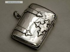 Unusual Silver Vesta Case Sheffield 1905 Other photo