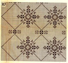 (3) Gallery.ru / Фото #24 - 322762 - lenkner Cross Stitching, Cross Stitch Embroidery, Embroidery Patterns, Designer Knitting Patterns, Weaving Patterns, Crochet Lace Edging, Filet Crochet, Cross Stitch Designs, Cross Stitch Patterns
