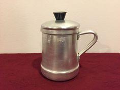 Kettle, Tea Pot, Tea Kettle, Mini Mid-Century Kettle or Pitcher, 1/4 liter, Roshedo by AngelsAtticToo on Etsy