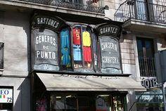 Camiseria Bonet.1890 .  La Rambla, 72. Barcelona.