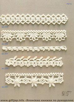 Crochet Edging And Borders - Trendy lace edging crochet patterns free vintage fan crochet edging - a free pattern Crochet Edging Patterns, Crochet Lace Edging, Crochet Borders, Lace Patterns, Crochet Trim, Love Crochet, Filet Crochet, Crochet Doilies, Crochet Designs
