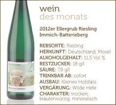 2012er Ellergrub-Riesling  Immich-Batterieberg   #wein #weinerleben