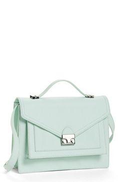 << minty tote >> #mint #style #fashion #tote xo, www.alittledashofdarling.com