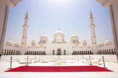 Sheikh Zayed Grand Mosque by TheFella, via Flickr