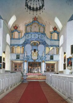 NO - Røros Mining Town - Röros Church interior - Norway by MerJade, via Flickr
