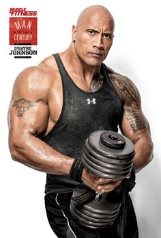 Dwayne The Rock Johnsons Shoulder Workout Muscle Fitness The Rock Dwayne Johnson, Rock Johnson, Dwayne The Rock, Dwane Johnson, Catch, Mens Shoulder Tattoo, Michael Ealy, Muscle Fitness, Muscle Man