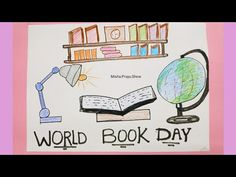 World Book Day 2021 | How to Drawing a Simple Book | Best Poster on Education Step by Step Easy - YouTube Drawing Competition, Easy Youtube, International Day, Event Organization, Cool Posters, United Nations, Poster On, Education, World