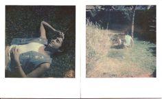 #polaroid #grass #instant #film #summer #light #sun