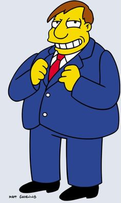 Springfield Characters: Mayor Quimby