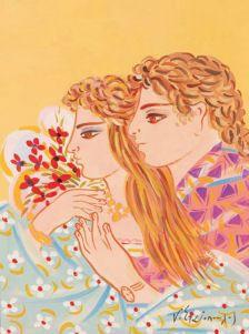 Visit the post for more. Folk Art, Flower Art, Naive Art, Painting, Contemporary Decorative Art, Art, Folk, Zelda Characters