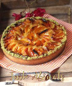 Tarte aux abricots amande pistache | Cuisinez avec Djouza
