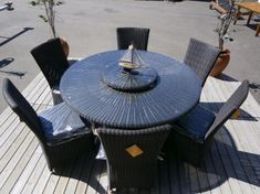 Bildresultat för utemöbler lazy susan bord