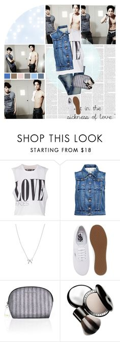 """""""Calvin Klein Jeans; Sehun & Kai"""" by seoulmate00 ❤ liked on Polyvore featuring Diesel, The Laundry Room, ONLY, KC Designs, Vans, Victoria's Secret, Chantecaille, kpop, EXO and exok"""