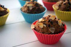 Gezonde bananen muffins :http://lifestyledishbymaris.nl/gezonde-muffins/