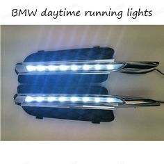 For BMW E70 X5 07-10 LED DRL DAYTIME LIGHTS FOG LAMPS DRIVING DAYTIME LIGHTS