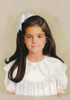 Dallas commission of a beautiful 6 year old child