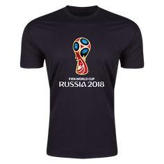 2018 FIFA World Cup Russia™ Trophy Event Emblem Supersoft T-Shirt (Black) 77cea7162