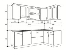 Kitchen Remodeling Plan Standard Kitchen Dimensions And Layout - Engineering Discoveries Kitchen Layout Plans, Kitchen Cabinet Layout, Kitchen Room Design, Modern Kitchen Cabinets, Kitchen Cabinet Design, Modern Kitchen Design, Home Decor Kitchen, Interior Design Kitchen, Interior Work