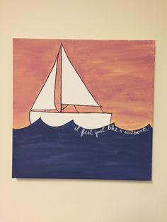 Ben Rector • Sailboat