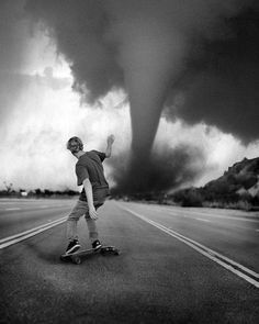LET'S HOPE THAT HE MADE THE RIGHT TURN OR WAS IT LEFT TURN.  TORNADOES ARE VERY UNPREDICTABLE   OR WAS I TALKING ABOUT MYSELF !!!!