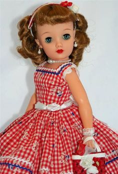 Gorgeous vintg ideal little miss revlon doll in box, circa 1958 ...