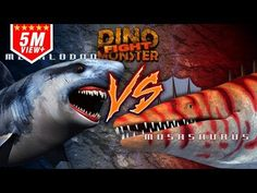 Dinosaurs Monster Megalodon VS Mosasaurus - YouTube Megalodon, Contact Email, Dinosaurs, Make It Yourself, African Fashion, Youtube, Appetizers, Snacks, Appetizer