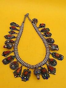 Berber necklace from Morocco
