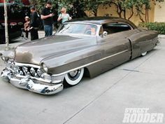 51 #Cadillac. If you can rent this or any vintage car, what an awesome and stylish way to make an exit!