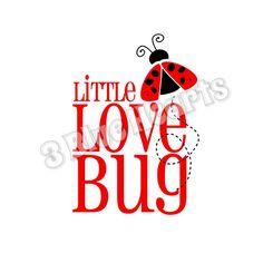 Little Love Bug SVG dxf Studio png jpg png by 3BlueHeartsDesign on Etsy