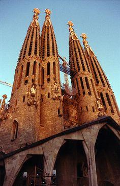 Coolest Catholic Church that I have seen ~ Barcelona