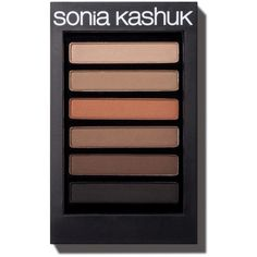 Sonia Kashuk® Dramatically Defining Liner & Brow Palette 0.13 oz :... (110 HRK) ❤ liked on Polyvore featuring beauty products, makeup, eye makeup, palette makeup, eyebrow cosmetics, eye brow makeup, eyebrow makeup and brow makeup