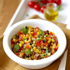 Salade de ratatouille Ratatouille, French Food, Chana Masala, Chili, Oatmeal, Cooking Recipes, Vegetables, Breakfast, Ethnic Recipes
