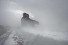 #stone #structure #fog