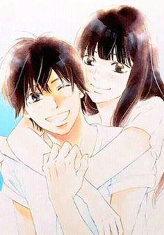 Shoujo Power - Thelma M. Fanarts Anime, Manga Anime, Anime Art, Kimi Ni Todoke, Studio Ghibli Wallpaper, Couple Manga, Kimi No Na Wa, Animated Icons, Girls Anime